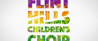Flint Hills Children's Choir logo design