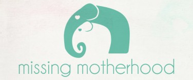 Missing Motherhood logo design