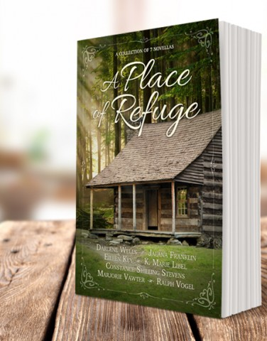 """Place of Refuge"" cover design"