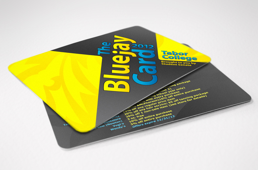 Vogel Design – Bluejay Discount Card