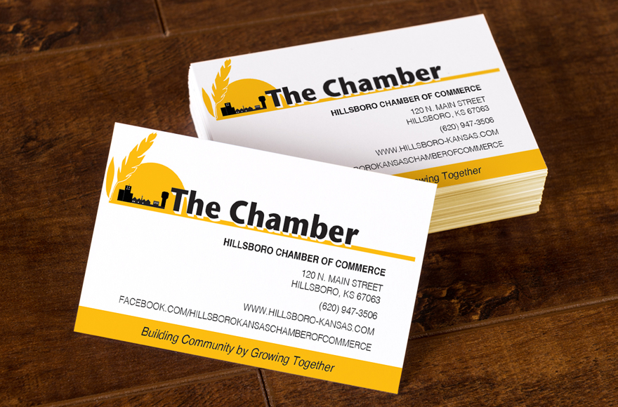 Vogel design hillsboro chamber business cards i love that the hillsboro chamber of commerce chooses to only do business with its local homegrown members when the chamber upgraded to a new office space colourmoves Image collections